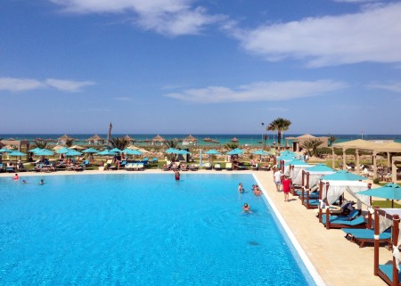Тунис, басейн, курорт