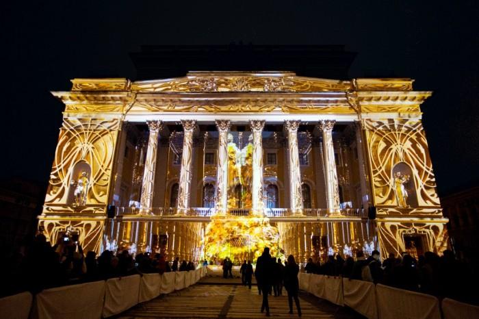 фестиваль света, Петербург