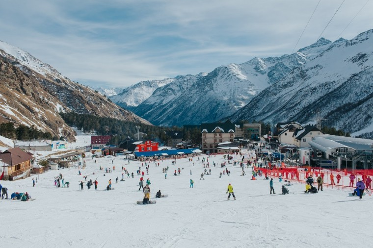Где покататься зимой на Северном Кавказе | Интерфакс-Туризм
