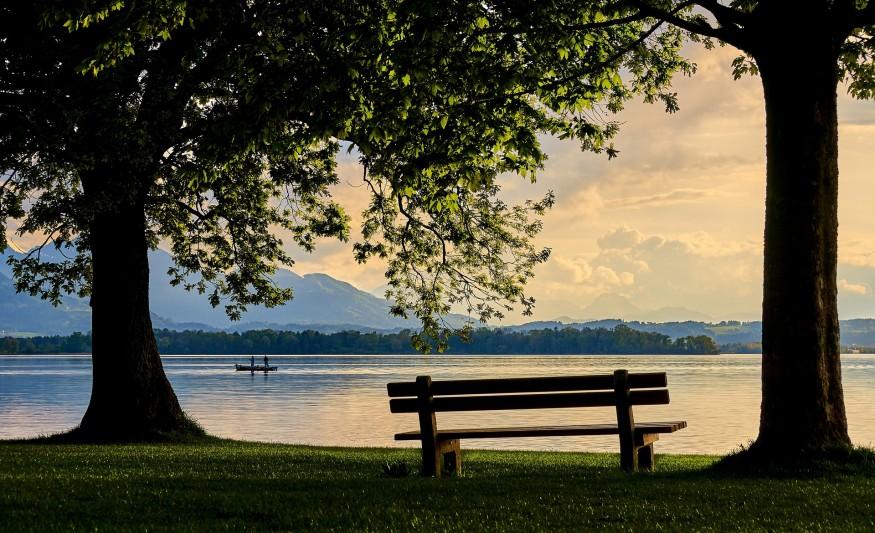 отдых, озеро