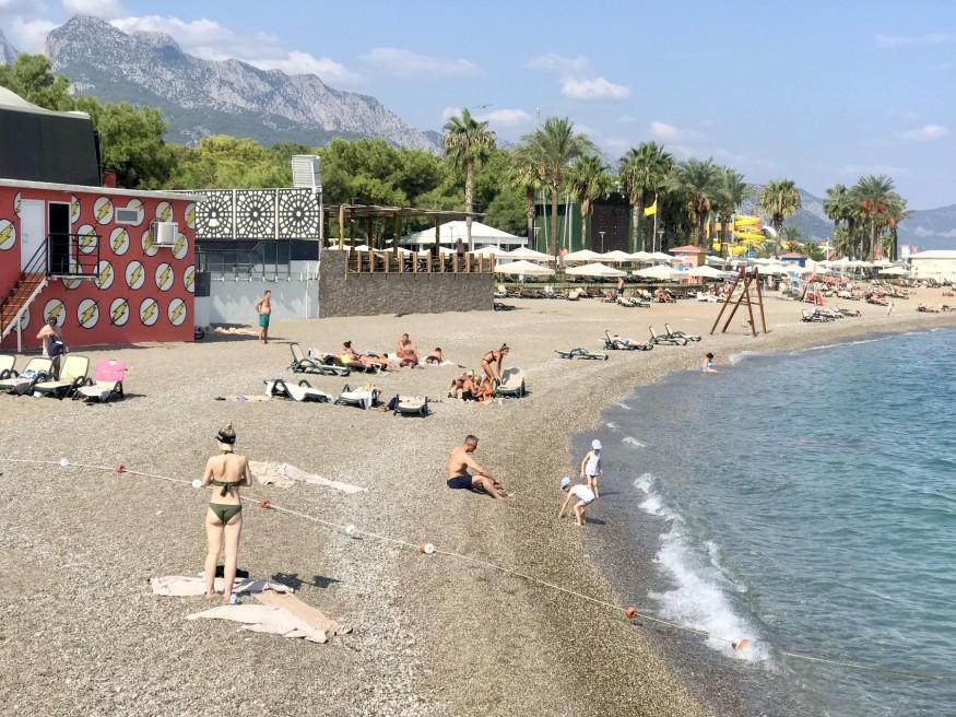 Турция, море, пляж