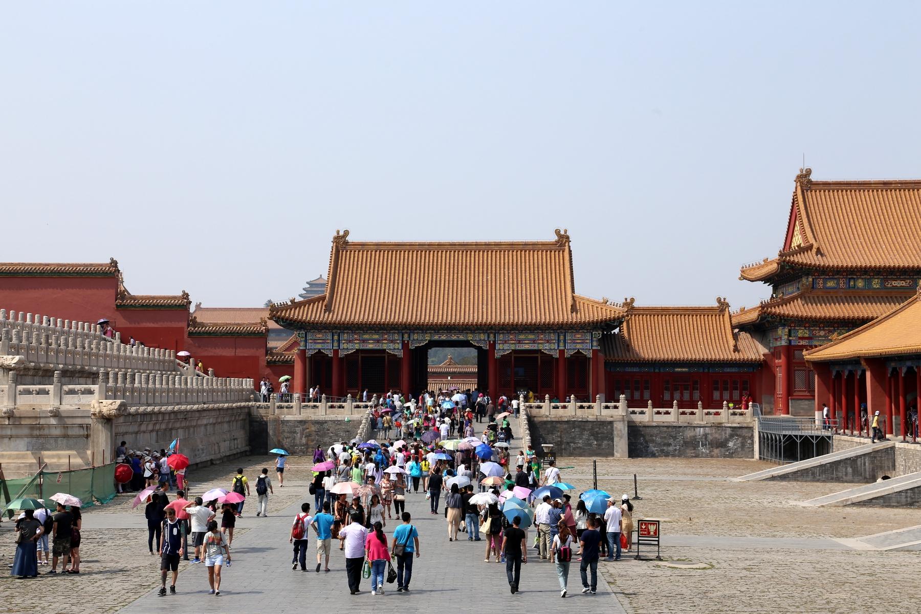 процессе чтения фотографии пекина туристов год